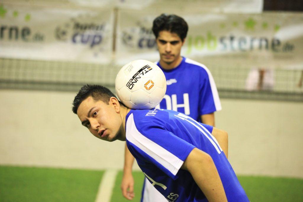 Hochklassiger Fußball beim Hotelcup 2012 in Hamburg