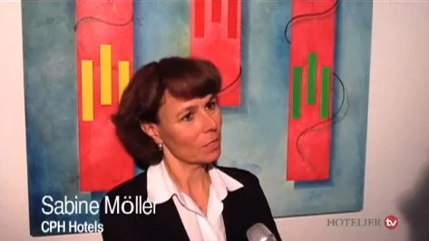 CPH Hotel-Chefin Sabine Möller - Interview in HOTELIER TV