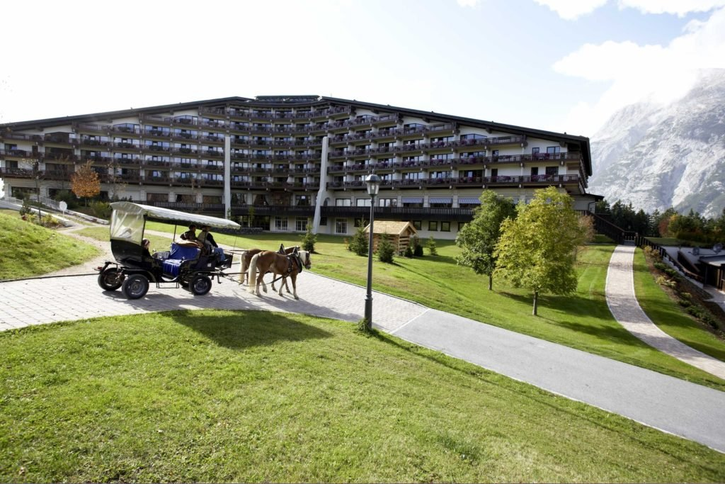 Interalpen-Hotel Tyrol in Telfs-Buchen bei Innsbruck