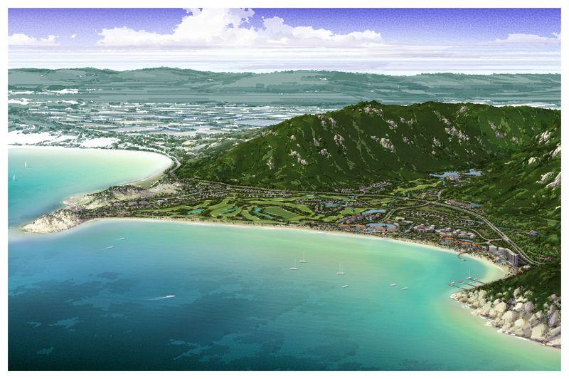 Vinh Hoi Bay - Aerial