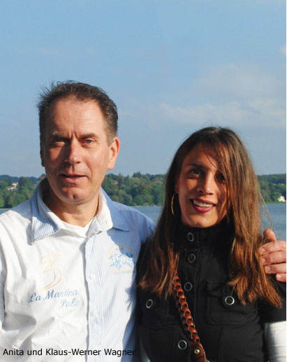 Klaus-Peter Wagner mit Frau Anita