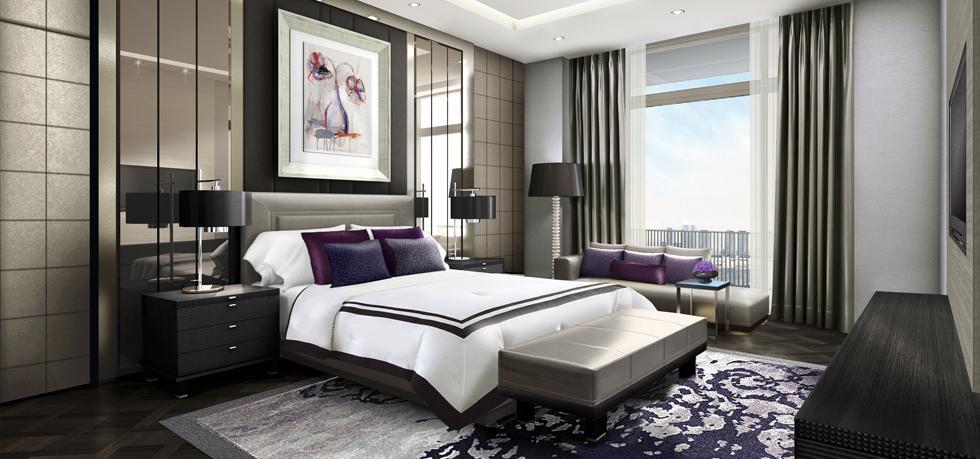 Neues Landmarkthotel in Indonesien: Fairmont Jakarta (Foto: Presidential Suite) eröffnet Ende Januar 2015