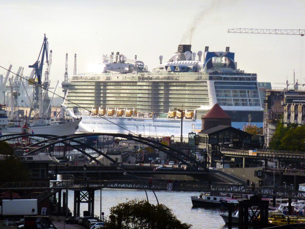 Hamburg ist im Kreuzfahrt-Olymp: Immer mehr Kreuzfahrtschiffe fahren ab der Hansestadt - Der Tourismus boomt