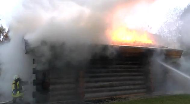 Außensauna brennt ab - Neues Feuer im Welcome Hotel Bad Arolsen