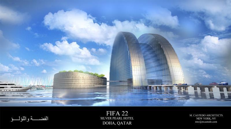 The Silver Pearl Hotel Doha, Katar - neues Luxushotel zur Fussball-WM 2022 geplant