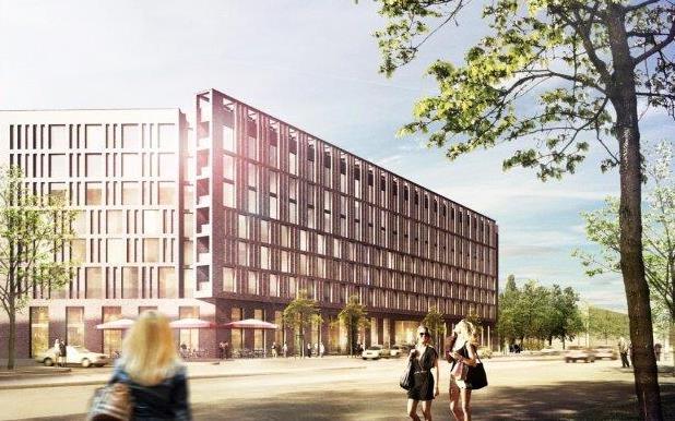 Geplantes Holiday Inn Hotel Hamburg Hafencity - Eröffnung ist Mitte 2017