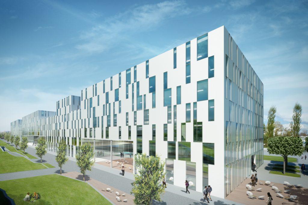Neues Courtyard by Marriott und Apartmenthotel im Forschungscampus Garching