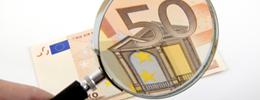 50 Euroschein auf Echtheit prüfen