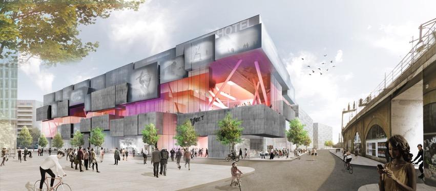 Volt Berlin: In dem neuen Shoppingcenter entsteht auch ein Lindner Hotel