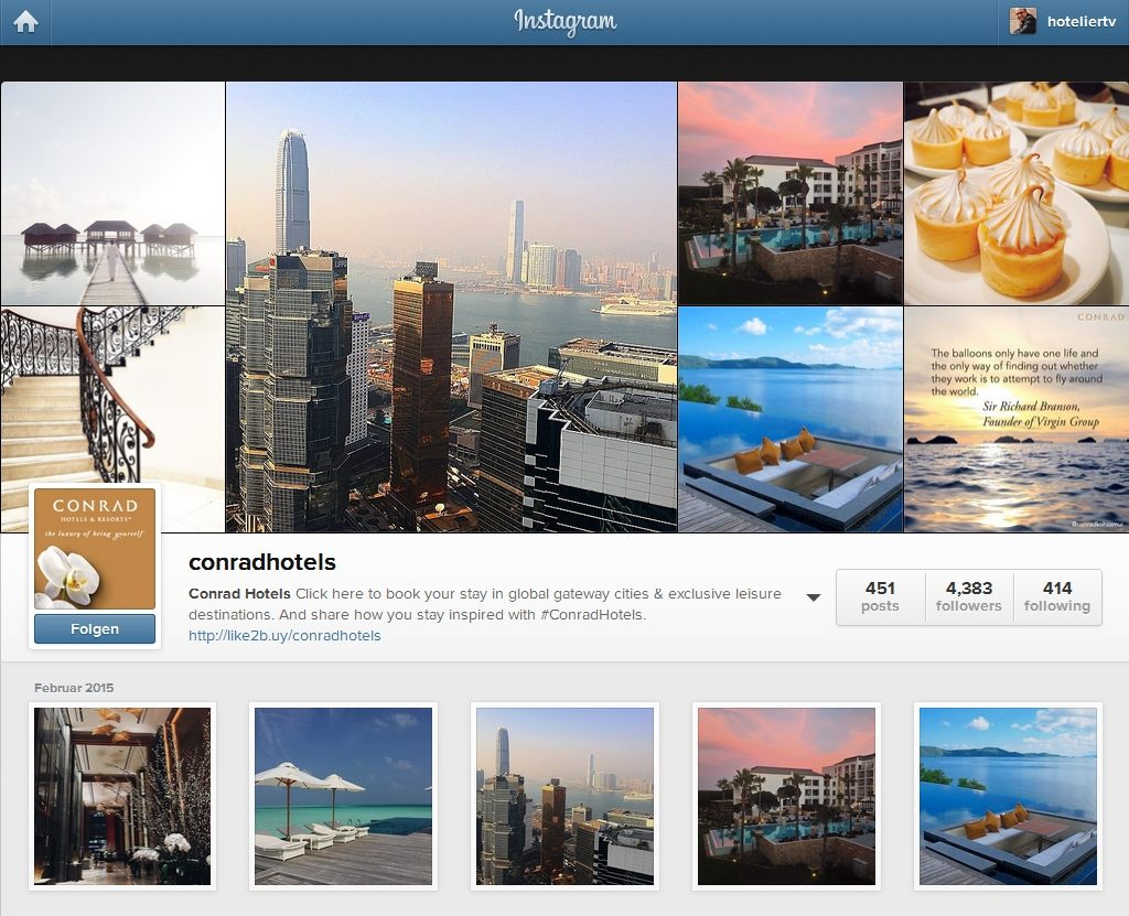 Conrad Hotels on Instagram