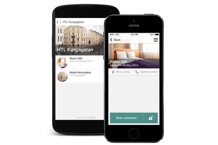 Schlüsselloser Zugang zum Hotelzimmer per App (Foto: HTL Hotels)