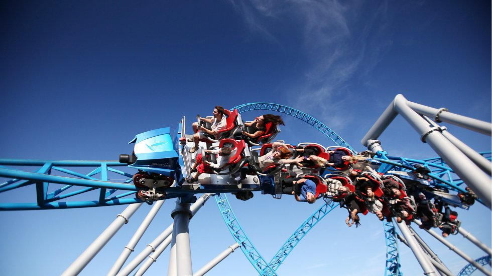 Europa Park Rust - Blue Fire Megacoaster powered by Gazprom