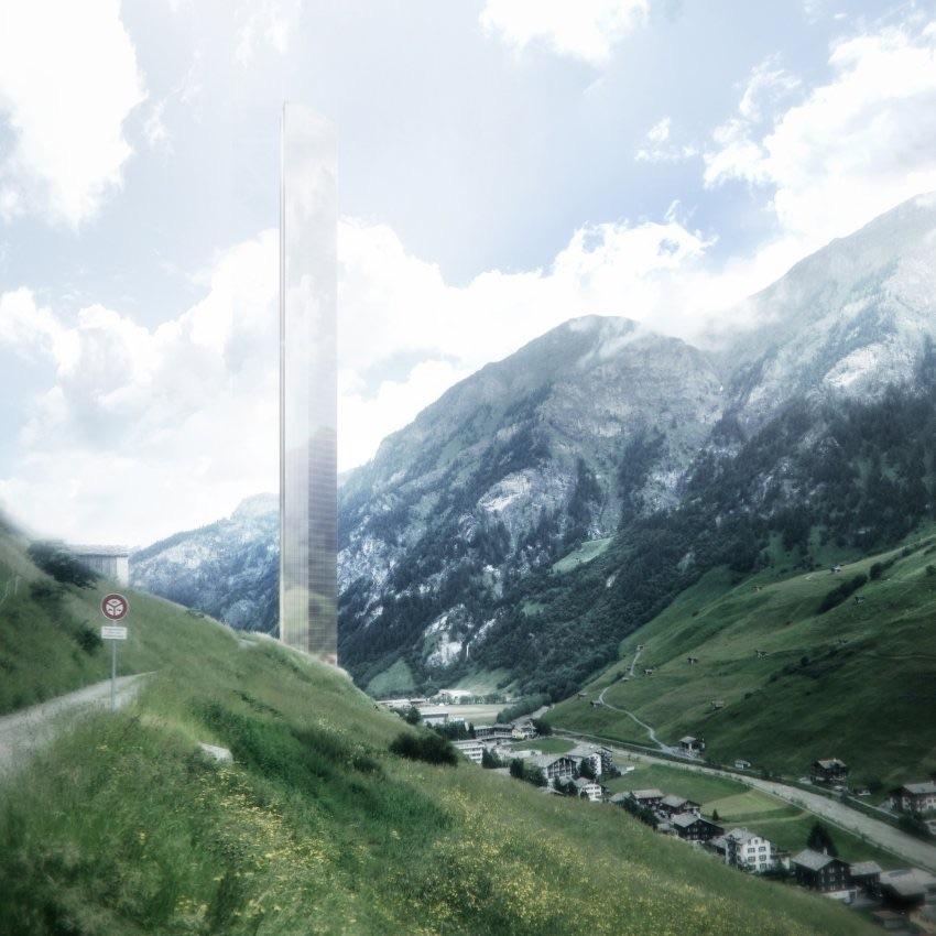Hotelturm in der Schweiz: Gigantomanie oder visionär?