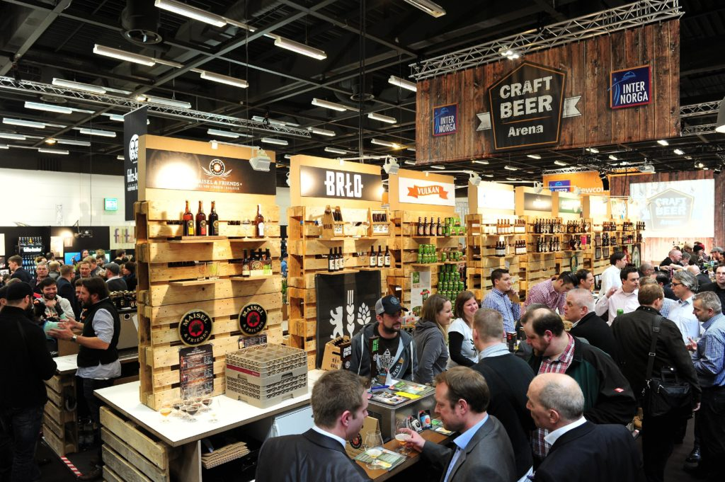 Internorga Hamburg 2015 - Craft Beer Arena