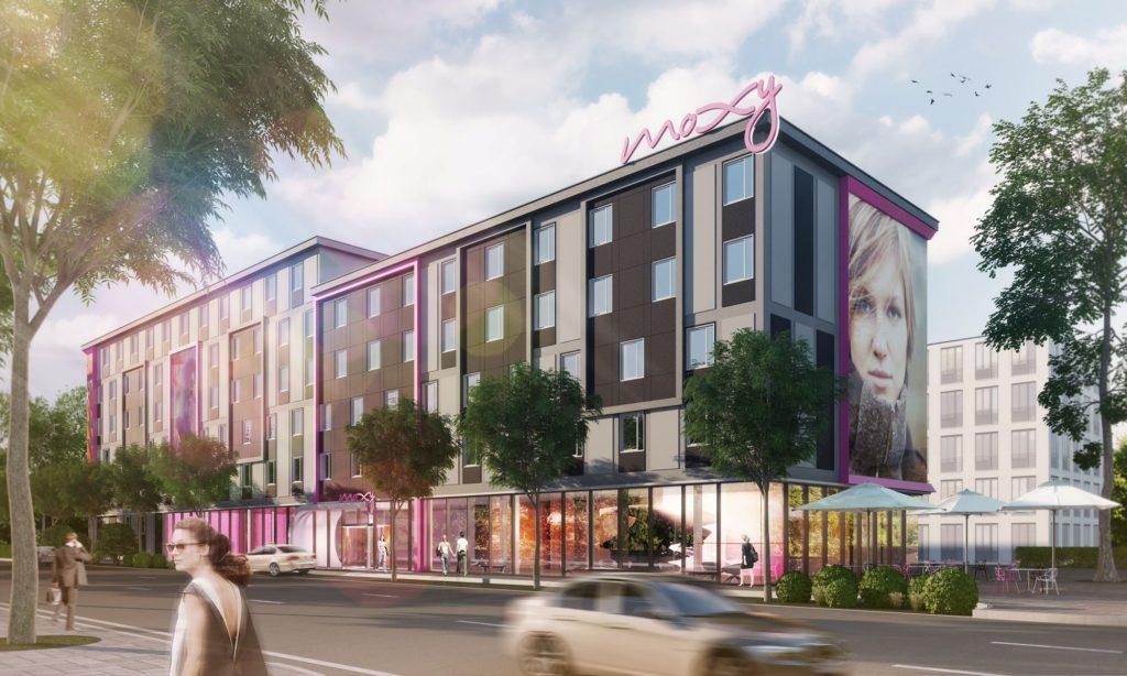 Moxy Hotel am Stuttgarter Flughafen geplant