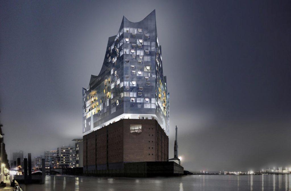 Wahrzeichen mit Tophotel: In der neuen Elbphilharmonie in Hamburg entsteht ein Westin Hotel mit 244 Zimmern – Eröffnung soll Anfang 2017 sein