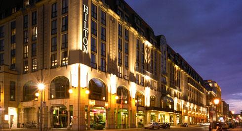 Führend im Onlinemarketing: Hilton Berlin