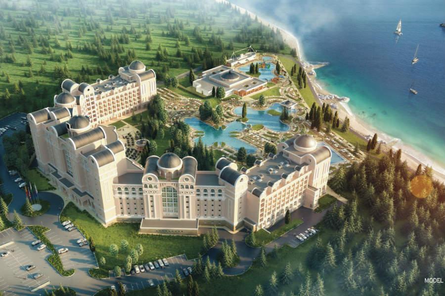 Eröffnung ist im Sommer: Neues Riu-Clubhotel Helios Paradise an der Schwarzmeerküste von Bulgarien