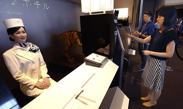 Roboter-Hotel eröffnet: Low-Budget-Zimmer für nur 65 Euro je Übernachtung - Niedrige Personalkosten