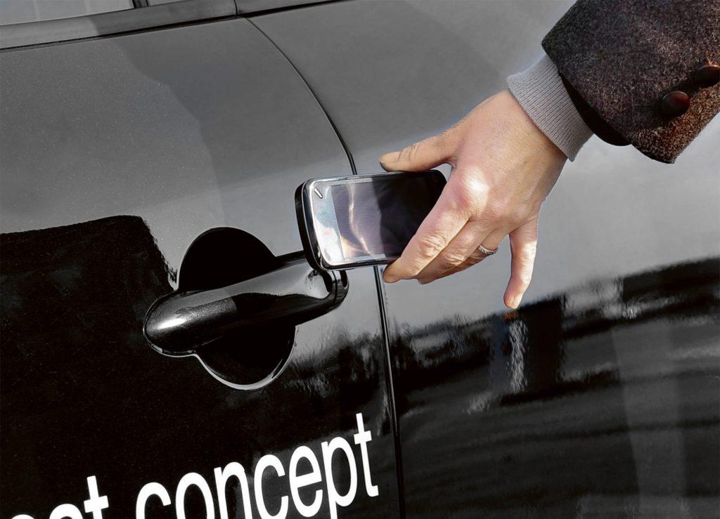 Funkschlüssel Auto (Foto: Continental)