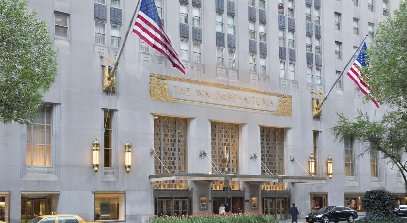 Waldorf Astoria New York City - Facade