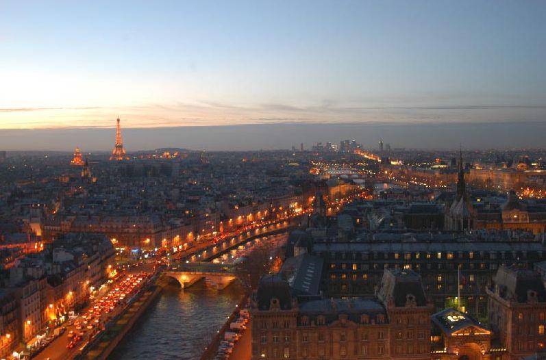 Blick über Paris (Foto: Atout France/H. Le Gac)