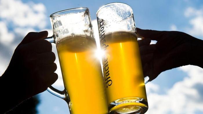 Bier bleibt sauber - Foto: Hacker-Pschorr