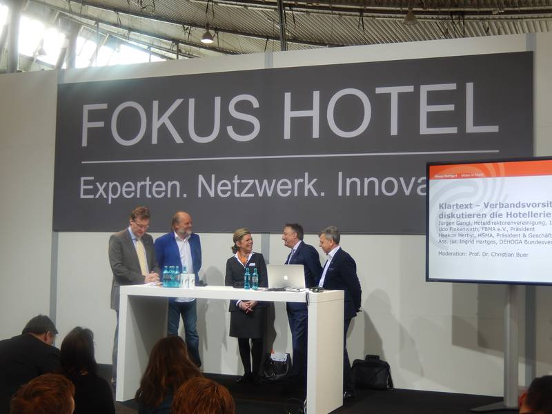 Fokus Hotel auf der Intergastra Stuttgart 2016 - Foto: Nemis