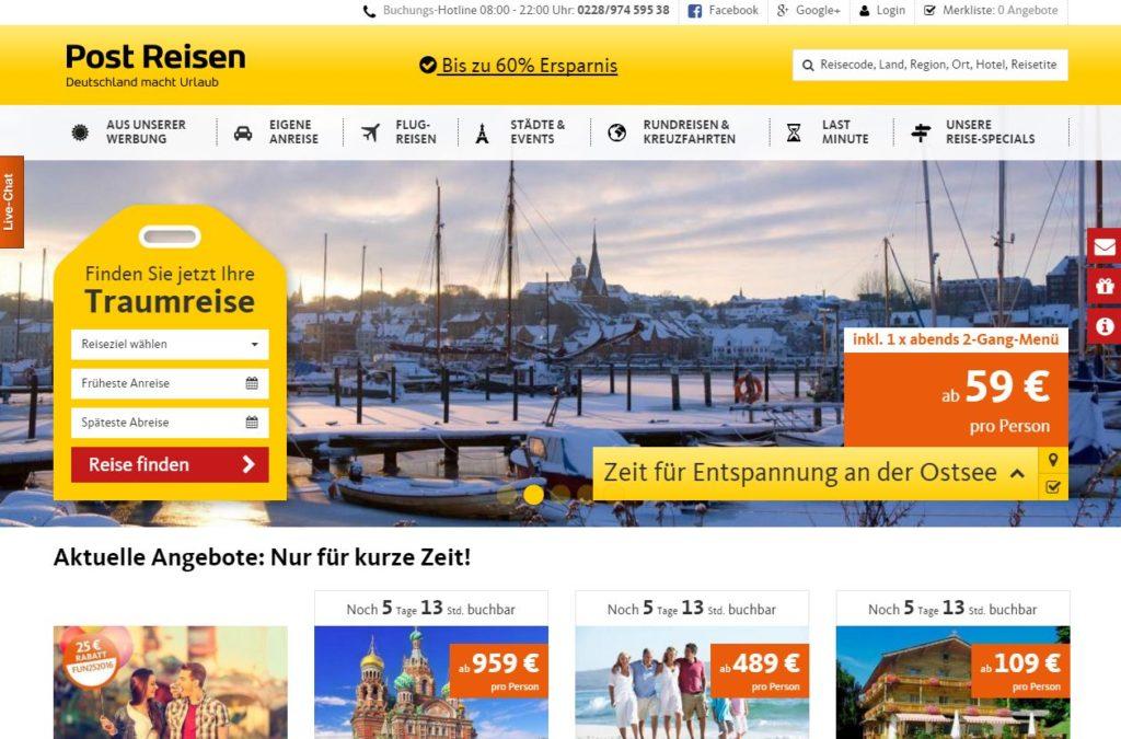Post-Reisen.de