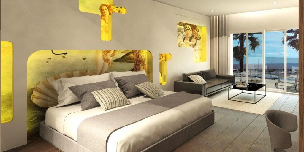 Junior-Suite im Pure Salt Port Adriano auf Mallorca (Foto: Pure Salt Hotels)