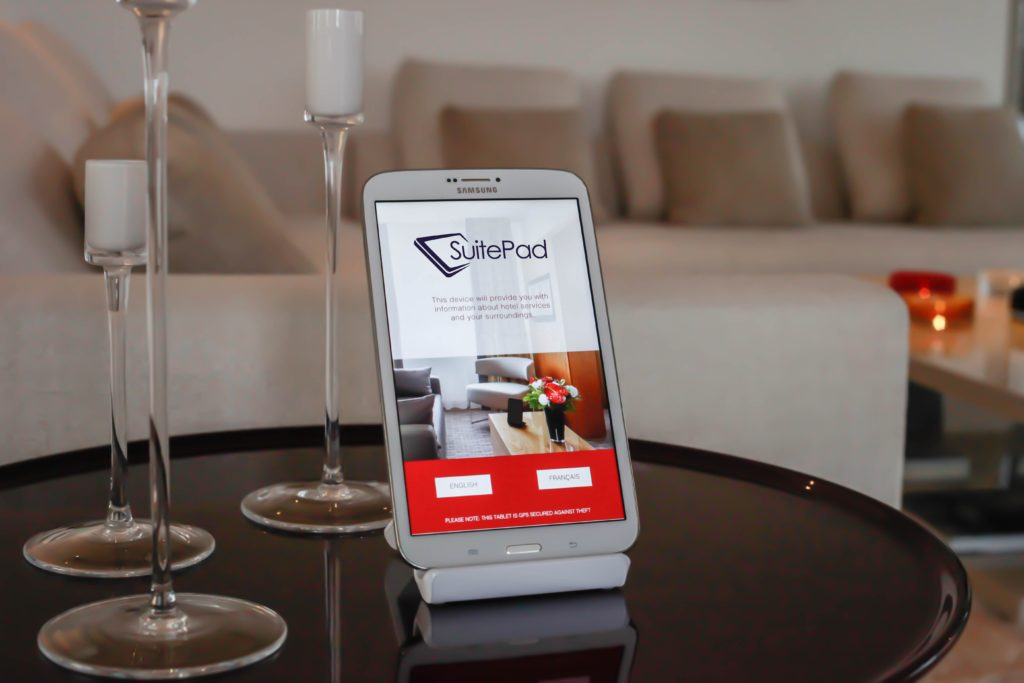 Concierge Tablets revolutionieren die Kommunikation in Hotels - Foto: Suitepad