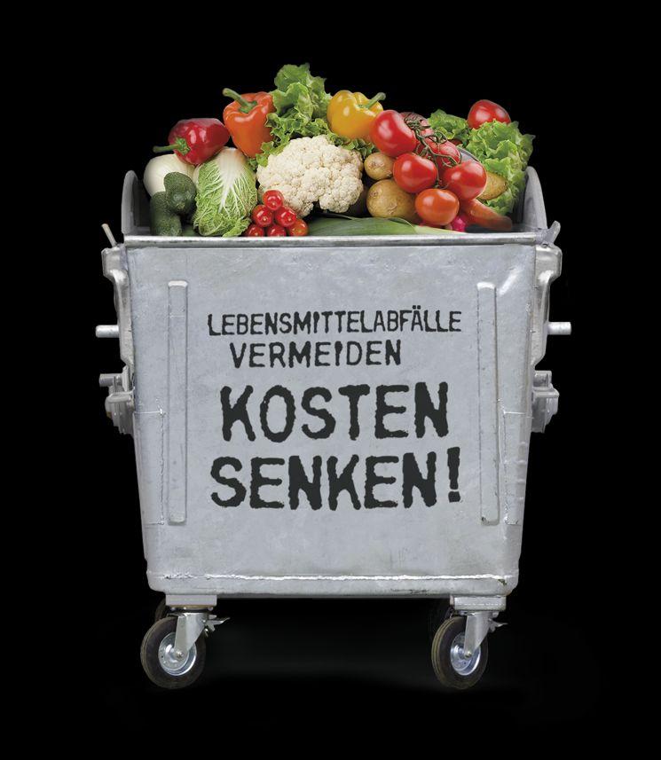 Überproduktion und Tellerrücklauf verursachen Lebensmittelabfall - United Against Waste legt erste Kennzahlen über Lebensmittelabfall in Großküchen vor