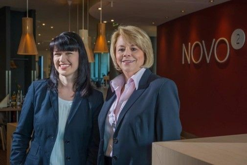 Frauenpower im Novotel Berlin Mitte – Claudia Ulbricht und Heike Naumann