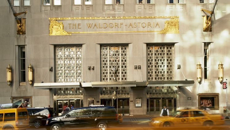 Waldorf Astoria NYC - Bald kein Luxushotel mehr? (Foto: Hilton Worldwide)