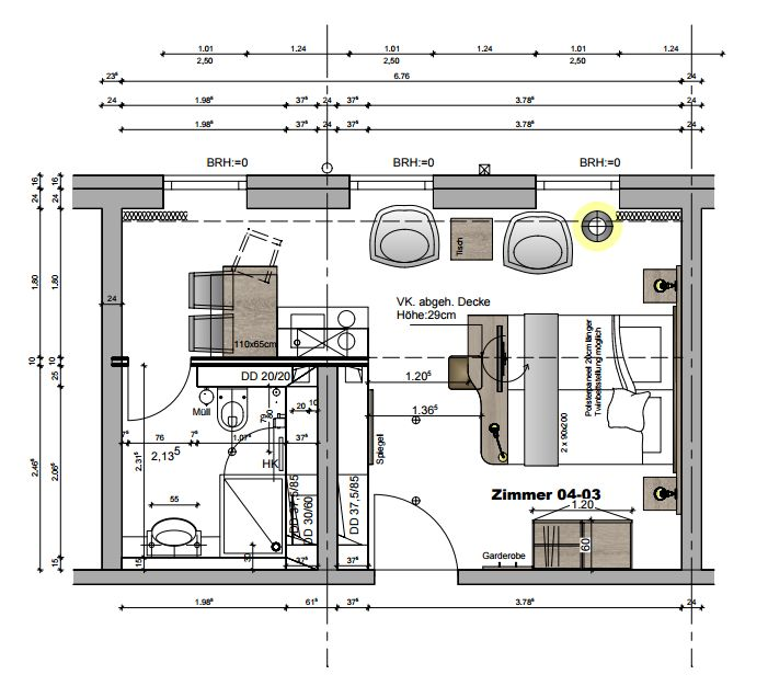 Penthouse im neuen Novum Style City Fürth (Grafik: P&P/Novum)