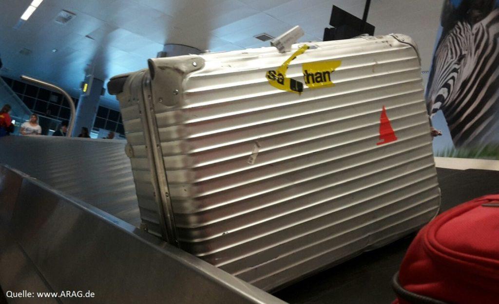 Koffer weg - was nun? Ratgeber zu Gepäckverlust auf Reisen (Foto: Arag)