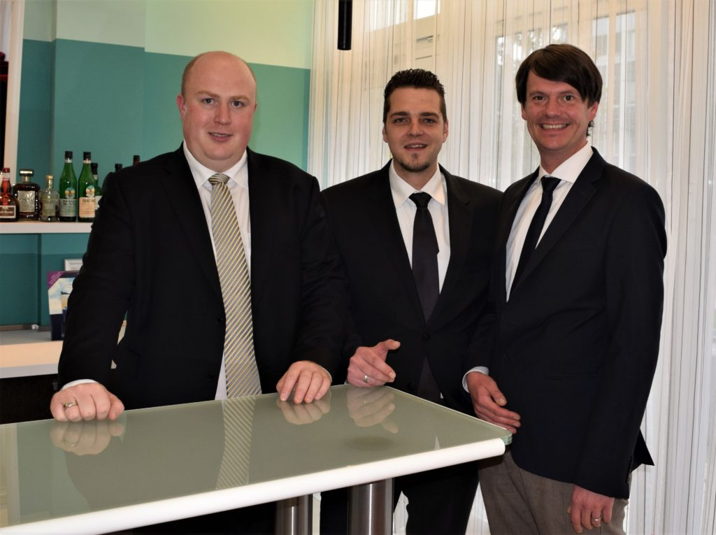 Von links - Martin Kemmer, Martin Götze und Tobias Hönning (Foto: Bernhard Krebs)