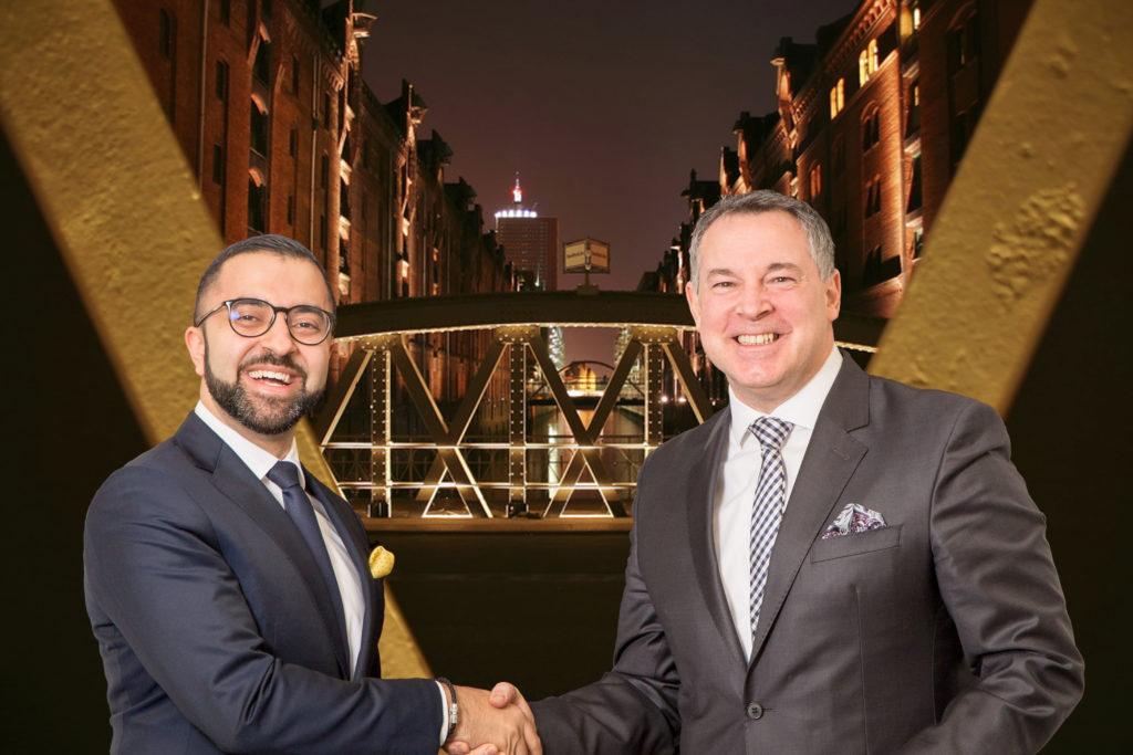 Novum-Eigner David Etmenan (links) holt Tophotelier Mario Pick (bislang GF bei Welcome Hotels) als Chief Operating Officer an Bord (Foto: Novum)