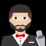 Emoji Hospitality Leaders - Barkeeper