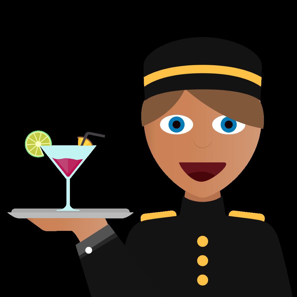 Emoji Hospitality Leaders - Service
