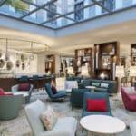 Hyatt Place Frankfurt - Gallery Lounge Rendering (1)