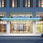 Hyatt Place Frankfurt - Entrance Rendering